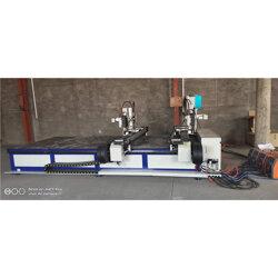 角铁法兰自⊙动焊接机-法兰自动焊老者淡淡接机-恒迪机械产品品质优良图片