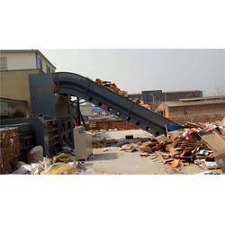 锡林郭勒盟废纸打包机-豫华打包机厂-卧式废纸打包机设备图片