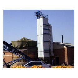 粮食烘干塔生产厂家_豫华烘干设备厂_焦作粮食烘干塔图片