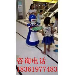 机器人餐厅送餐服务机器人图片