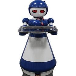 大的机器人餐厅 机器人成大厨和跑堂图片