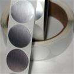 亮银铝箔纸标签-宏达标签厂图片