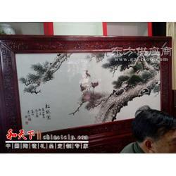 手绘陶瓷瓷板画图片