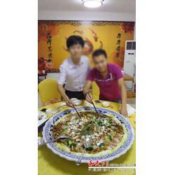 青花山水大盘子酒店海鲜陶瓷大的青花山水鱼盘图片