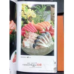 甜品店做菜谱的时候可以把菜谱做成活页,方便增加新产品图片