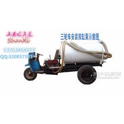 三轮吸粪车真空泵 清理猪粪鸡粪 专用真空泵图片