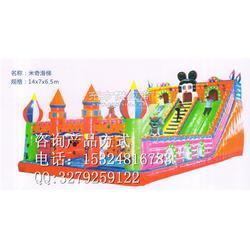供应大中小型儿童娱乐充气城堡充气滑梯图片