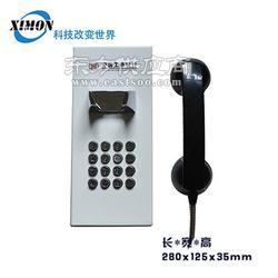 ATM客服热线电话机、自动拨号客服电话机、壁挂式报警金属电话机图片