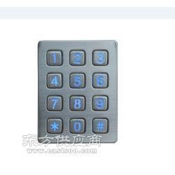 12夜发光加油机门禁电梯锌合金金属键盘电话机按键 键盘 工业应用设备图片
