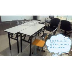 2016新款移动办公培训桌长条折叠桌条形会议桌学生培训桌图片