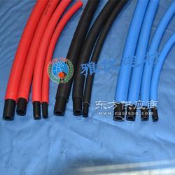 供应各种规格单层PU阻燃管 106.5双层阻燃管 红色/蓝色/黑色 进口原料图片