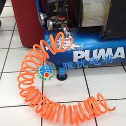 厂家定做各种尺寸 TPU燃螺旋气管 6412米长 自动化车间用弹簧伸缩气管图片