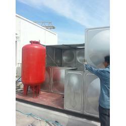 成品不锈钢消防水箱-苏州水箱-苏州鸿迪金属制品图片