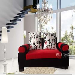 咖啡厅沙发定做双人布艺卡座沙发供应图片