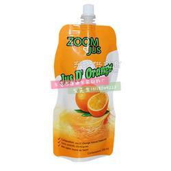 定制饮料包装袋 果汁果冻塑料包装袋 250ML-350ML液体饮料吸嘴袋图片