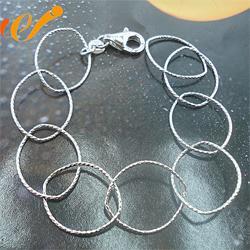 纯银手链,万集饰品(在线咨询),手链图片
