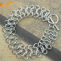 纯银手链,万集饰品(在线咨询),银手链阳正天深深图片
