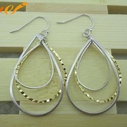 银耳环925、万集饰品(在线咨询)、银耳环图片