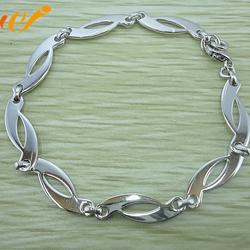 银手链女、万集饰品(在线咨询)、银手链图片