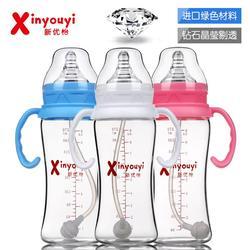 天水玻璃奶瓶_新优怡(图)_优质玻璃奶瓶图片