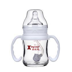 云南省玻璃奶瓶,新优怡,抗摔玻璃奶瓶图片