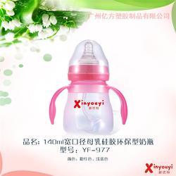 新优怡优质奶瓶(图)、硅胶奶瓶婴儿用品、山西硅胶奶瓶图片