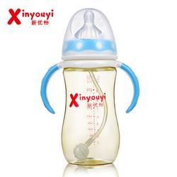 自动吸管奶瓶材质,宁夏奶瓶材质,新优怡奶瓶厂家图片