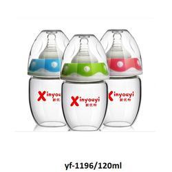 景德镇玻璃奶瓶|新优怡|玻璃奶瓶厂家图片
