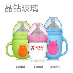 玻璃奶瓶廠家-百色玻璃奶瓶-新優怡圖片