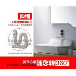 广东防臭下水管,卫浴五金专家,防臭下水管安装图片