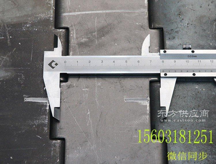 宁津坚果烘干带孔链板网带森喆厂家低价定制链板节距31.75 38.1图片