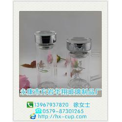 华翔玻璃杯满足您需求 双层玻璃杯一般多少钱-双层玻璃杯