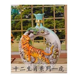 珐兰瓷工艺酒瓶定制图片