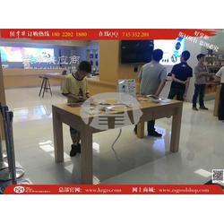 苹果iPhone6手机木纹桌子供应图片