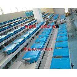 软包伸缩看台|伸缩看台|沧州宏特隆体育设施图片