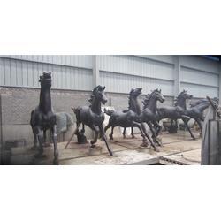 铜马雕塑|辽宁铜马雕塑|天创雕塑图片