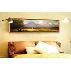 制作卧室装饰画,上海卧室装饰画,历城区丹尼工艺品销售(查看)图片