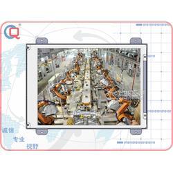 奇创彩晶开放式电容 电阻触摸工业显示器图片