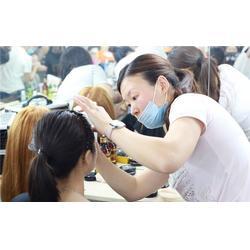 化妆|爱慕化妆美甲造型培训学校|永川化妆盘发图片