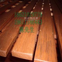 非洲菠萝格方木加工180乘180菠萝格防腐木方木凉亭立柱供应图片