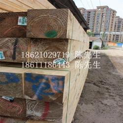 铁杉方木进口齐边工程枕木一级板材厂家图片