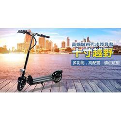 双杆电动滑板车 汕尾电动滑板车 鹘鹰智能质量可靠图片