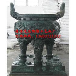 北海铜雕鼎-进忠雕塑-铜雕鼎定制图片