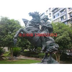 进忠雕塑(图)|铜雕马|承德铜雕马图片