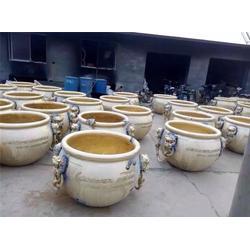 福建纯铜制大缸、进忠雕塑铜制大缸、纯铜制大缸工艺品图片