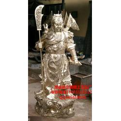 晋城铜关公 进忠雕塑 铜关公摆件图片