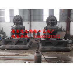 抚顺铜雕狮子|铜雕狮子生产|进忠雕塑(优质商家)图片