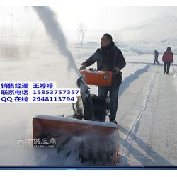 效率高浩鸿手扶式扬雪机小区抛雪机扫雪机抛雪机图片