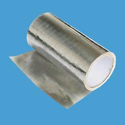 阻燃铝箔夹筋生产厂家、奇安特保温材料、阻燃铝箔夹筋图片