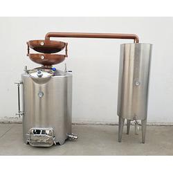 红酒蒸馏锅酿酒技术、诸城酒庄酿酒设备图片